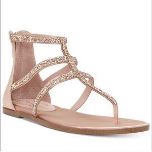 Jessica Simpson Rose Gold Sandals